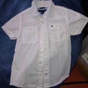 Size 4. White button down